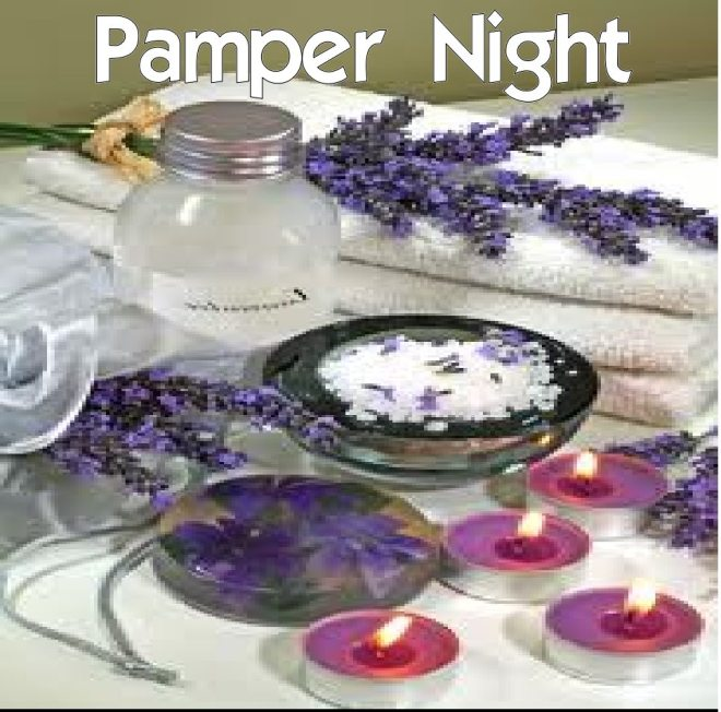 Pamper Night Grapic