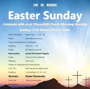 Morning Worship Service 16-03-27