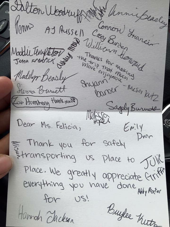 FBuffington Thank You card