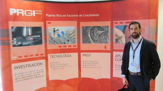 Dr. Bernáldez en el Instituto Eduardo Anitua (Vitoria,Spain)