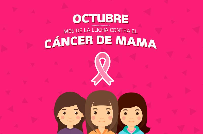 Resultado de imagen para octubre mes del cancer de mama argentina