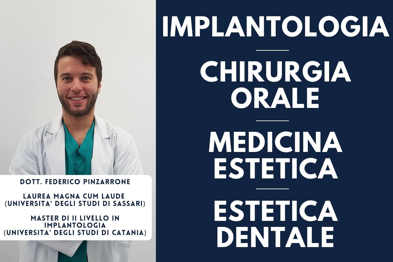 Dott. Federico Pinzarrone Implantologia Chirurgia Orale Medicina Estetica Estetica Dentale