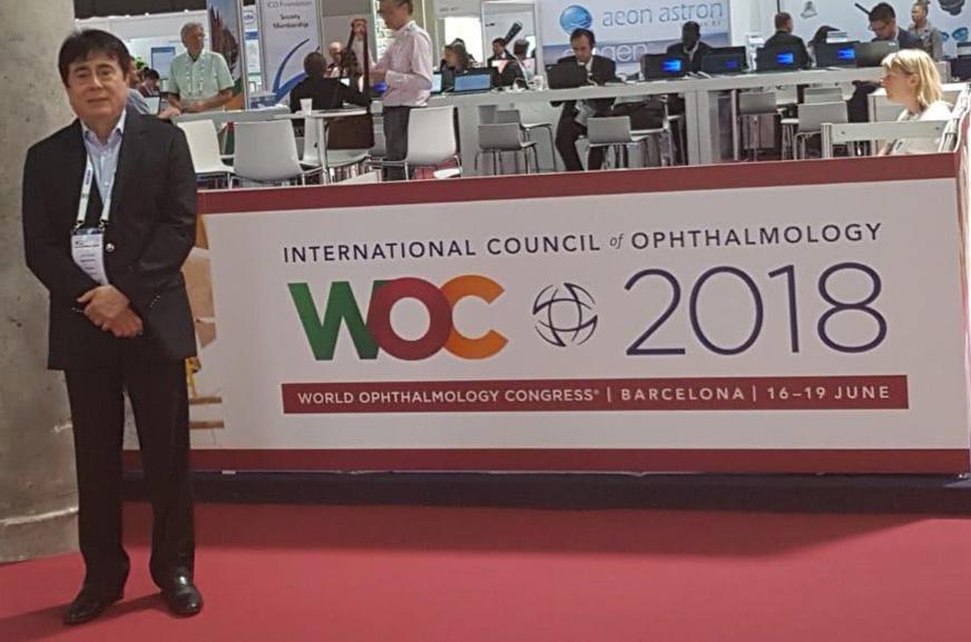 Word Ophthalmology Congress – Barcelona – 2018