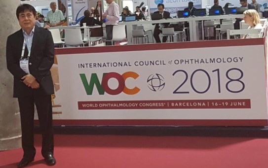 Word Ophthalmology Congress – Barcelona – 2018