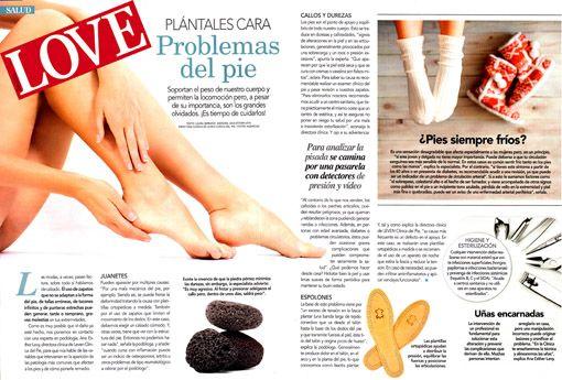 Revista LOVE LEVEN Clínica del pie
