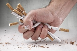 Stop smoking and become the non-smoker