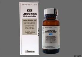 Safe dosing of nebulized lidocaine