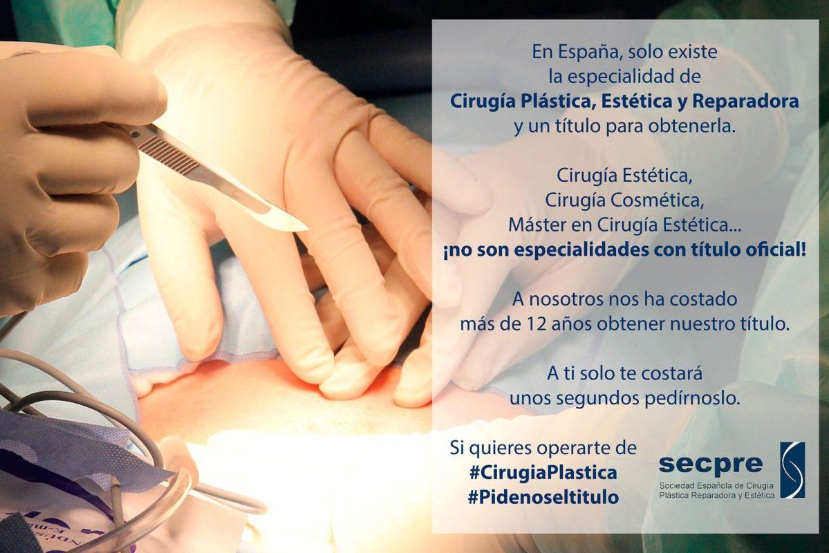 llamamiento de los cirujanos plásticos