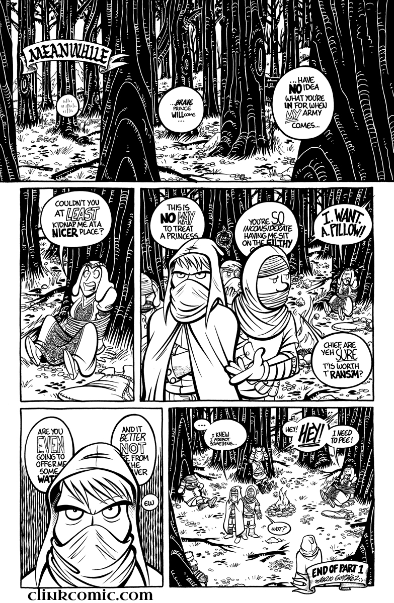 Divide and Conquer #1, Page 20