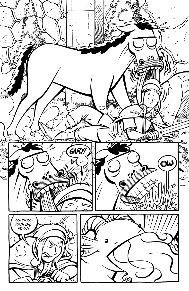 Divide and Conquer #2, Page 8