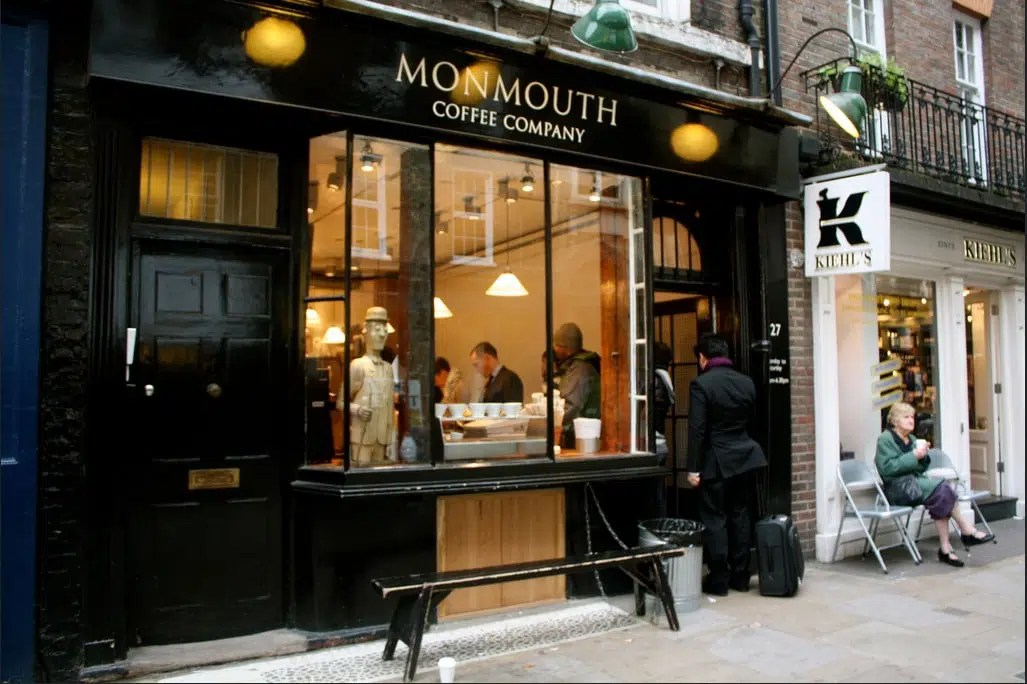Monmouth Coffee Company Covent Garden Best Coffee Shops London