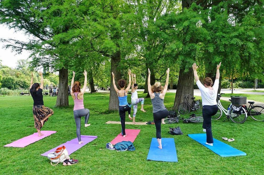 Image result for outdoor pilates in amsterdam