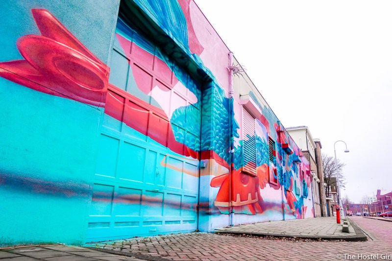 Street Art in Amsterdam | 10 Ridiculously Fun Things To Do With Your Friends In Amsterdam | Clink Hostels