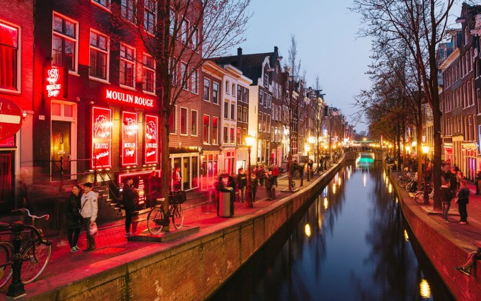 Red Light District in Amsterdam the most interesting things you can do at night in Amsterdam Clink Hostles