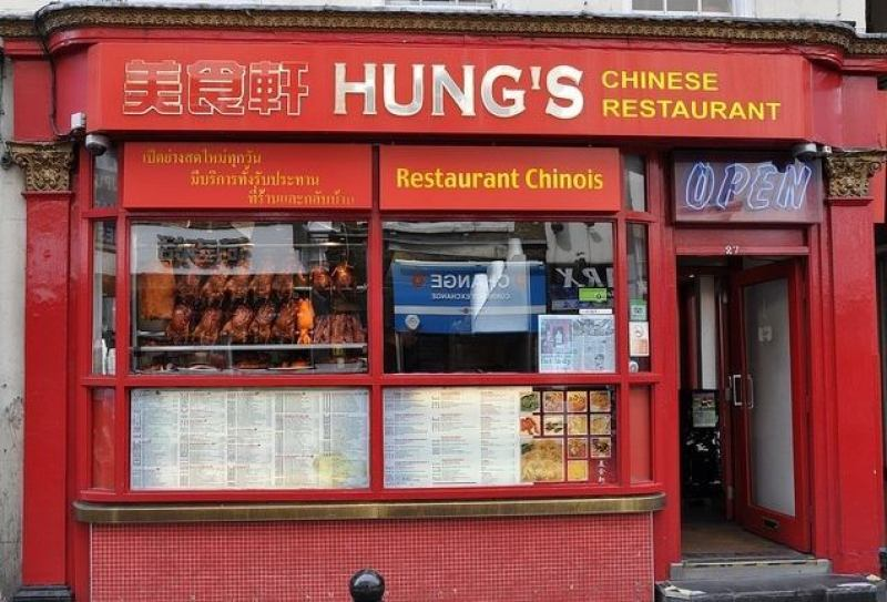 Hung's Best Chinese Restaurants London Clink Hostels