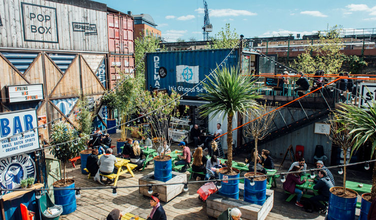 Clink Hostels Best Street Food London