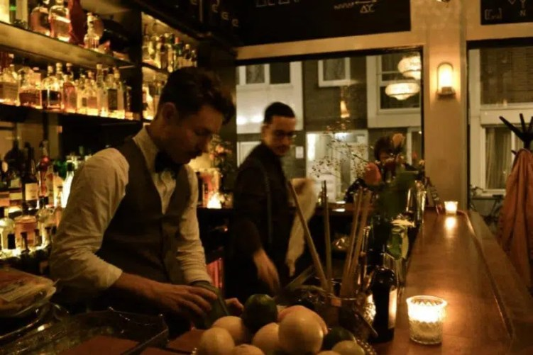Hiding in plain sight Cosy bars in Amsterdam Clink Hostels