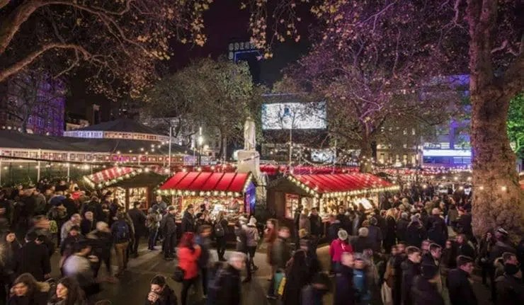 London Christmas Market How to Spend Christmas in London Clink Hostels