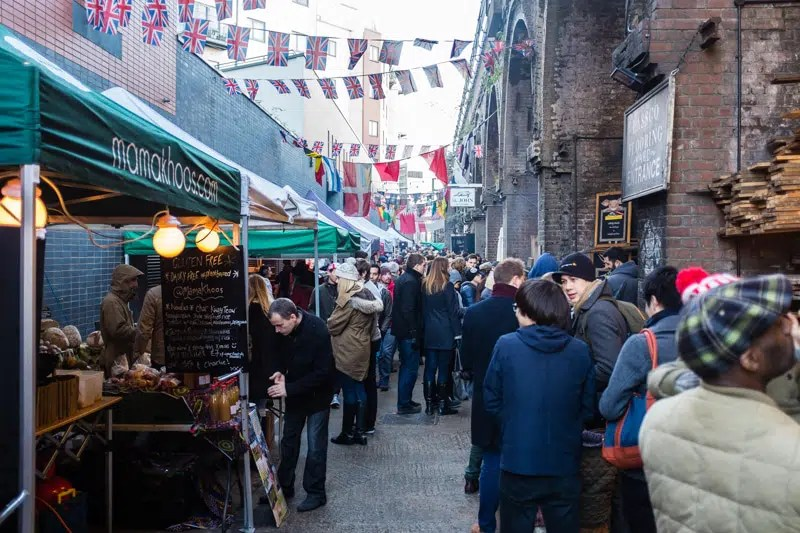 Maltby street market Hidden Gems in London Clink Hostels