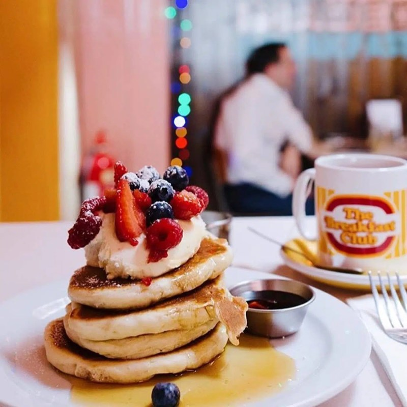 The Breakfast Club Unreal Pancake Places in London