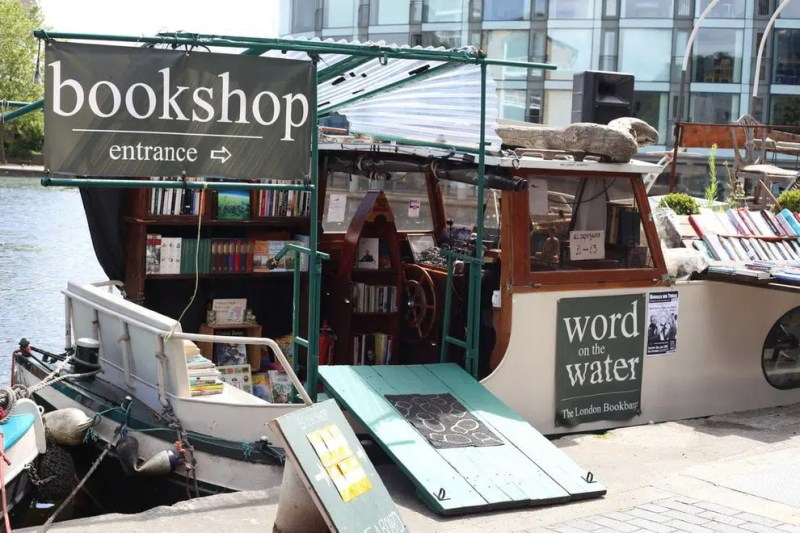 Word on the Water The Best Bookshops in London Clink Hostels