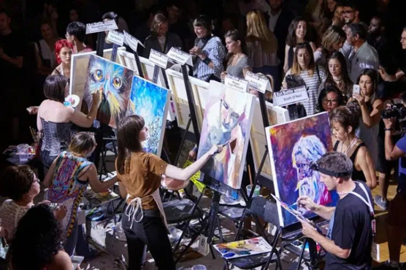 Art Battle Amsterdam | What to do in Amsterdam This weekend | Clink Hostels