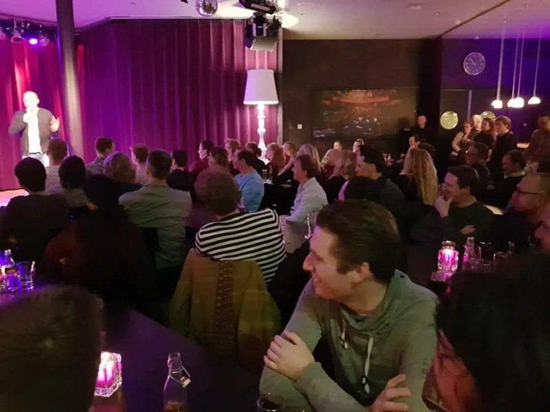 Playground Comedy Amsterdam | Stand Up Comedy Amsterdam | Clink Hostels