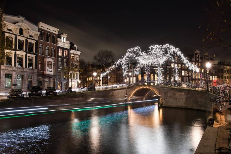 Amsterdam Light Festival New Year's Eve