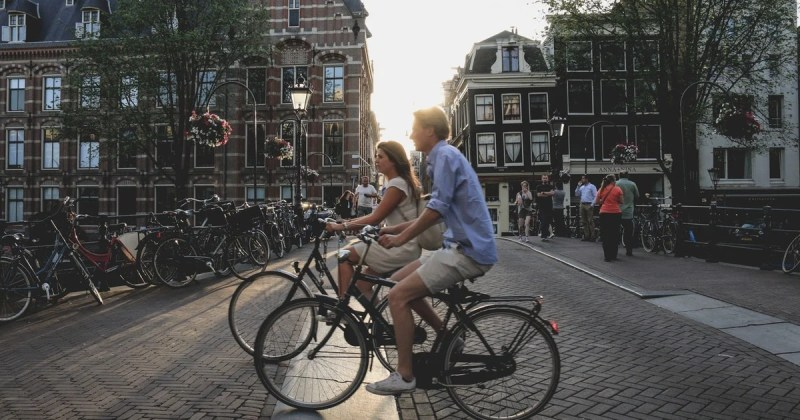 Cycling in Amsterdam | Top things to do in Amsterdam this Spring | Clink Hostels