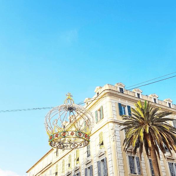 Ajaccio, la couronne. Corse, France