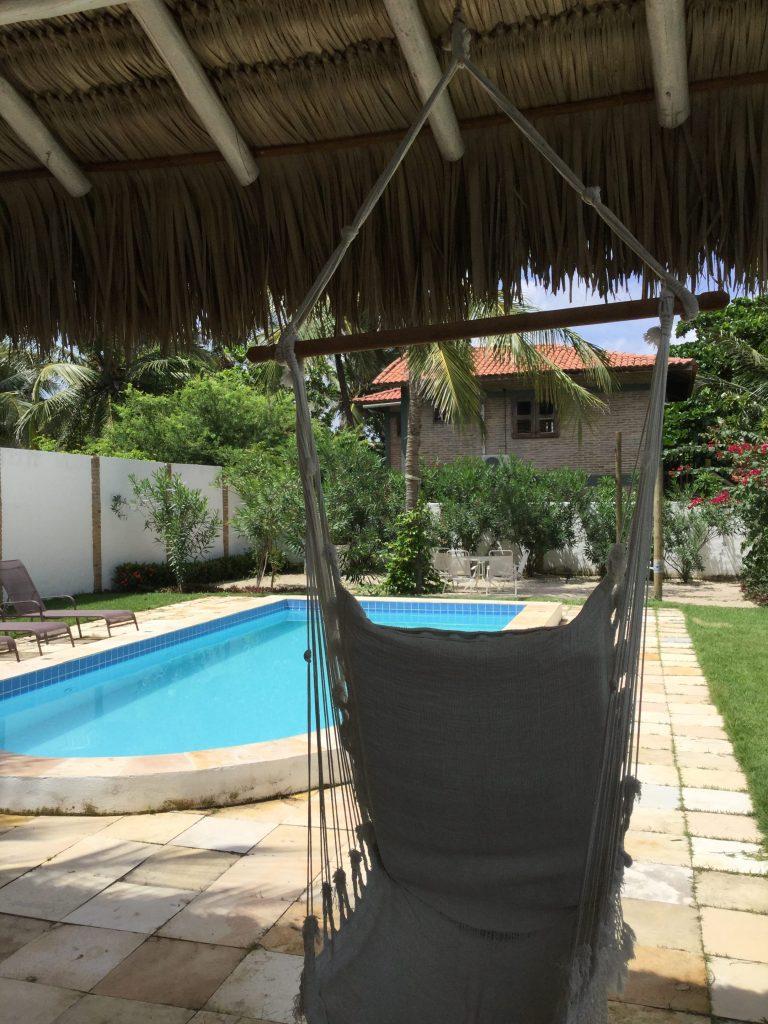 Piscine de la Villa Mati, Jericoacoara, Ceara, Brésil