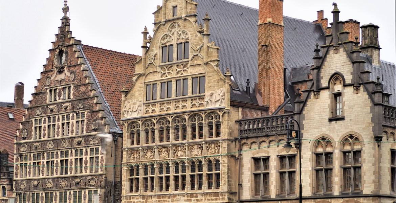 Gand belgique visiter clioandco blog voyage maisons à pignon à gradin gralei