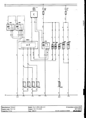 Renault Clio 172 Wiring Diagram | Online Wiring Diagram