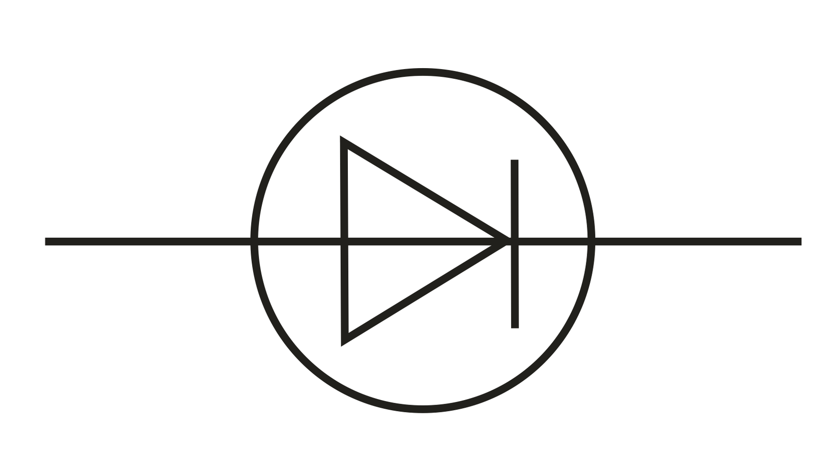 Light Emitting Diode Symbol