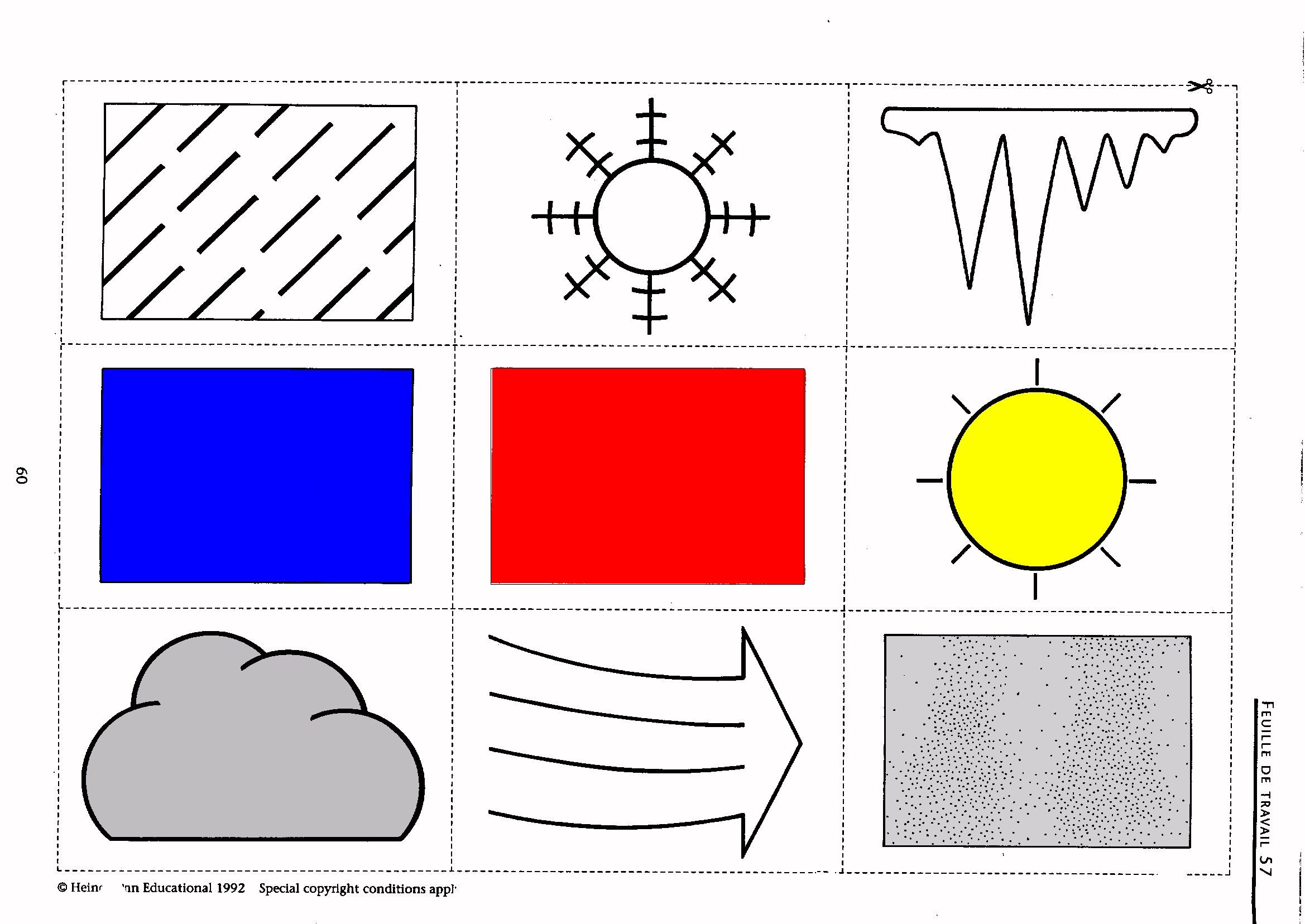 Weather Forecast Symbols For Children