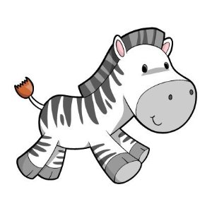 cute baby zebra colouring pages page 2