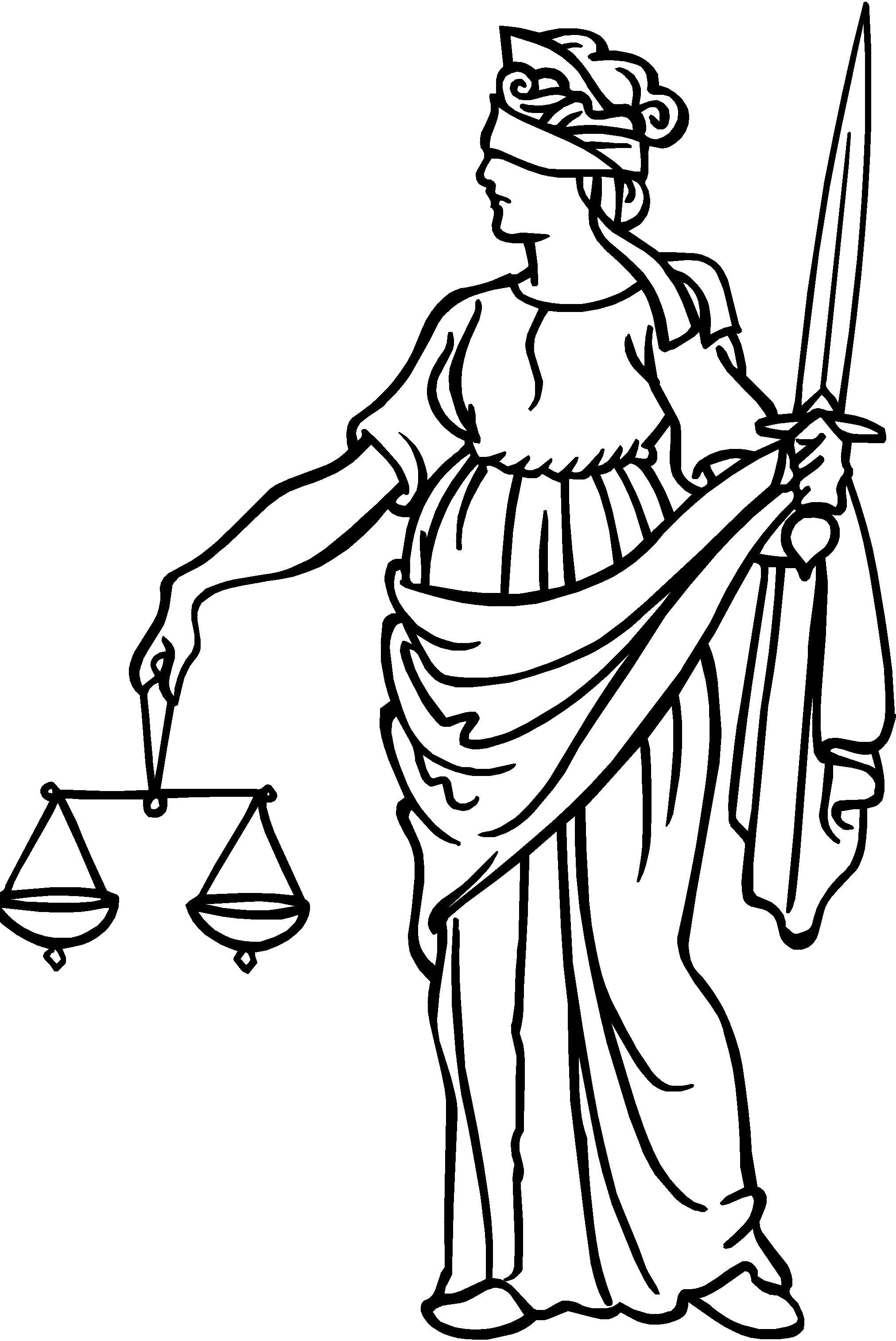 Scales Of Justice Symbol