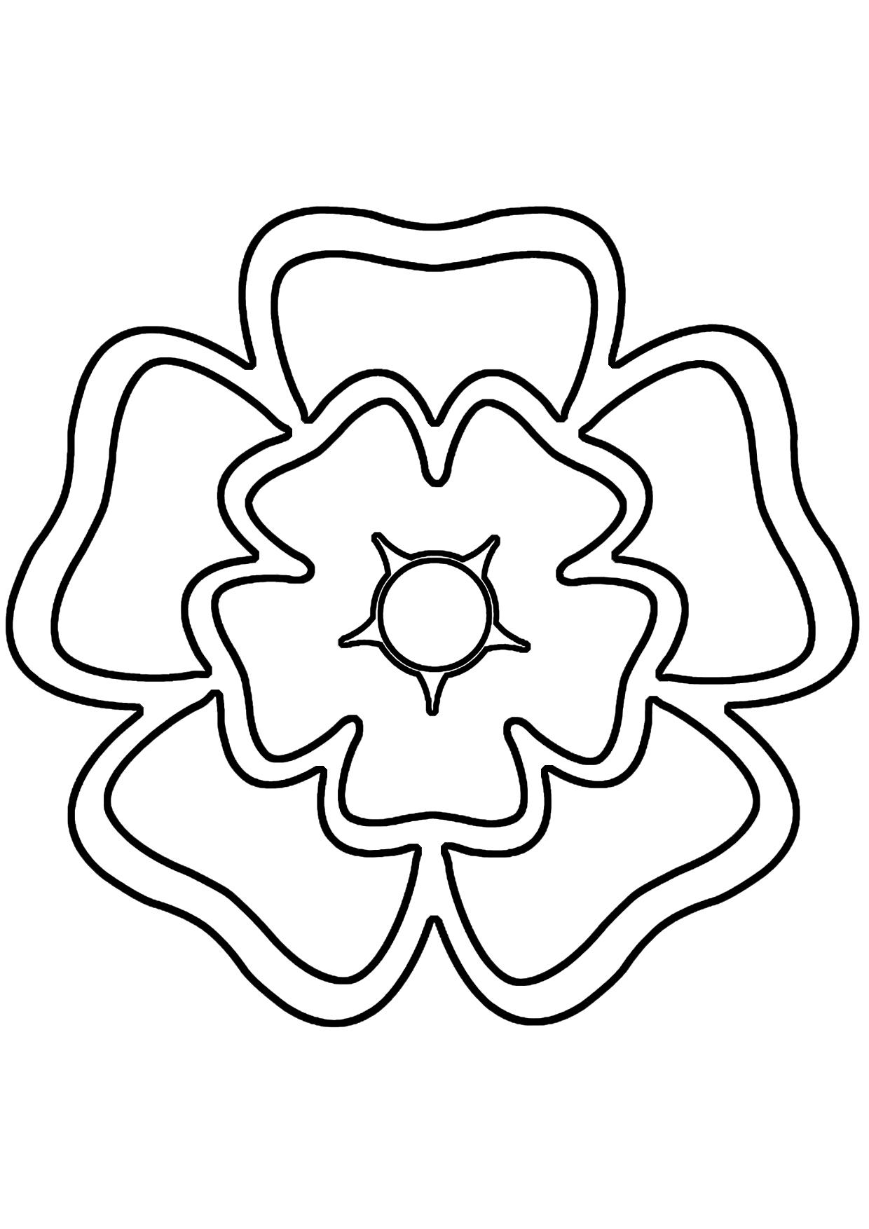 Tropical Flower Stencils