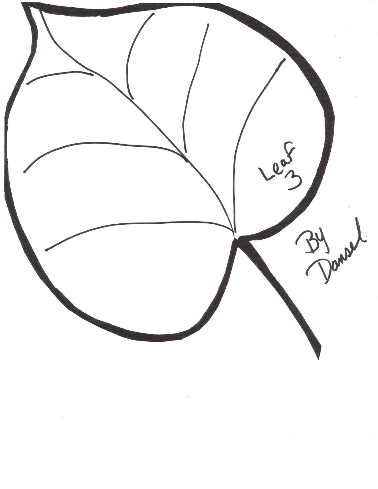 Leaf Template Free