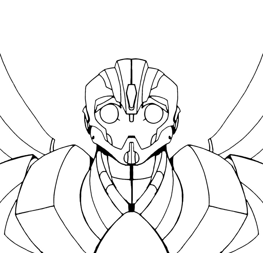 transformer bumblebee coloring pages free
