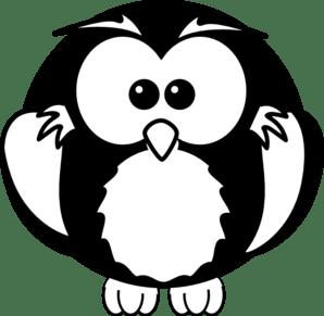 Owl Simple Clip Art - ClipArt Best (298 x 291 Pixel)