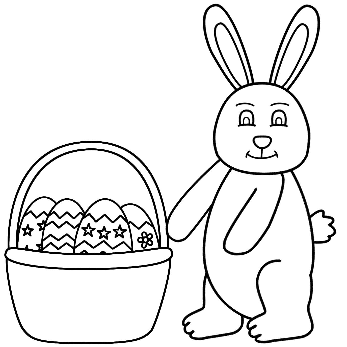 Two Page Easter Basket Printable
