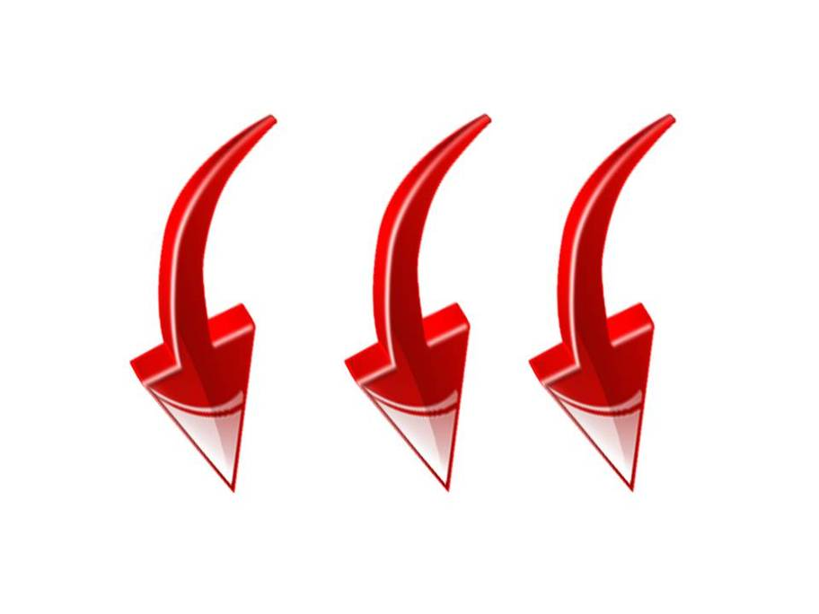 Red Arrow Pointing Down - ClipArt Best (912 x 684 Pixel)