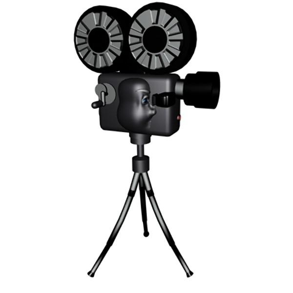 3D 3ds cartoon movie camera - ClipArt Best - ClipArt Best (600 x 600 Pixel)