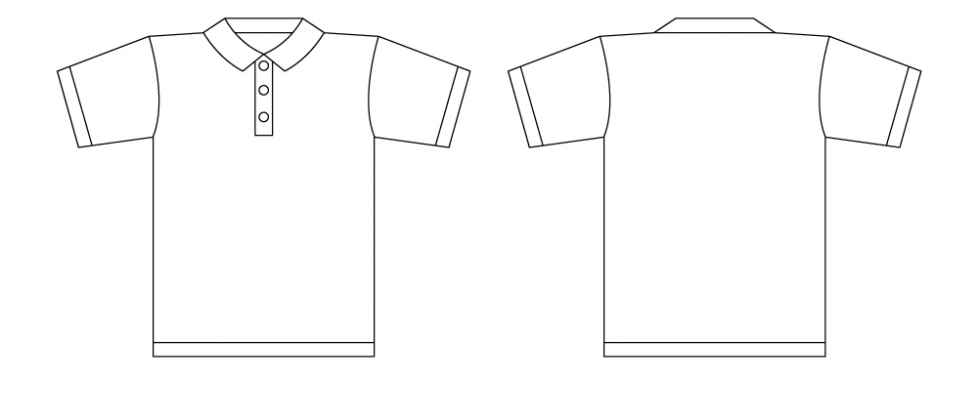 41 blank t shirt vector templates free to download. shirt vector ...