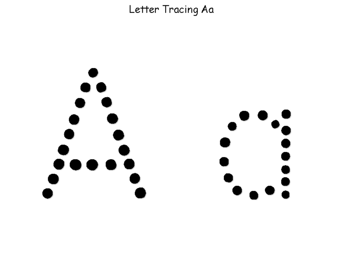 Trace A Letter