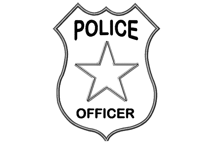 police badge coloring page police coloring picture mounty coloring