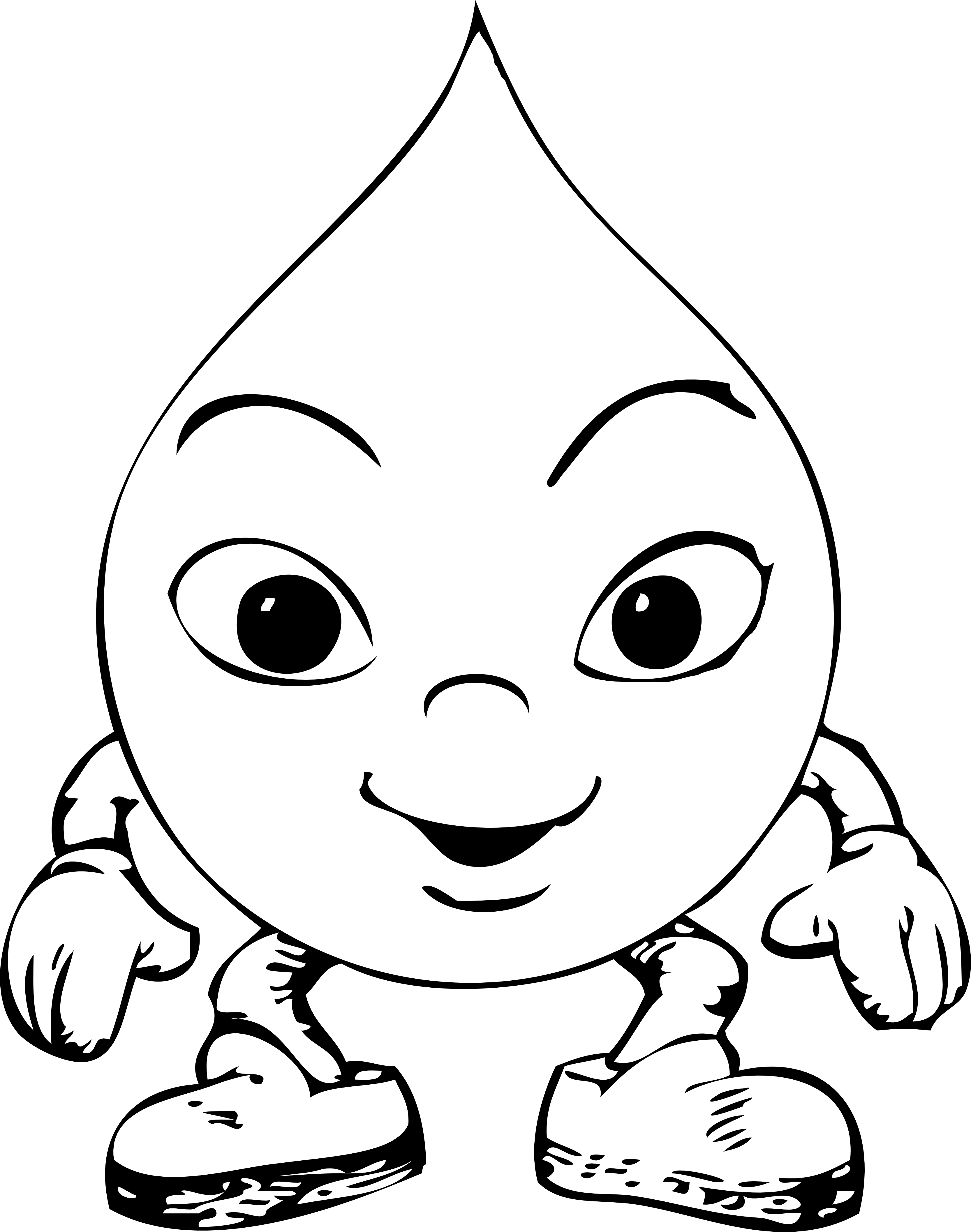 raindrops coloring pages clipart best