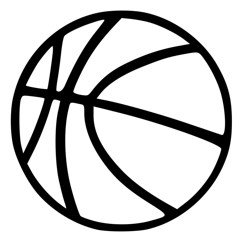 Basketball Outline Image