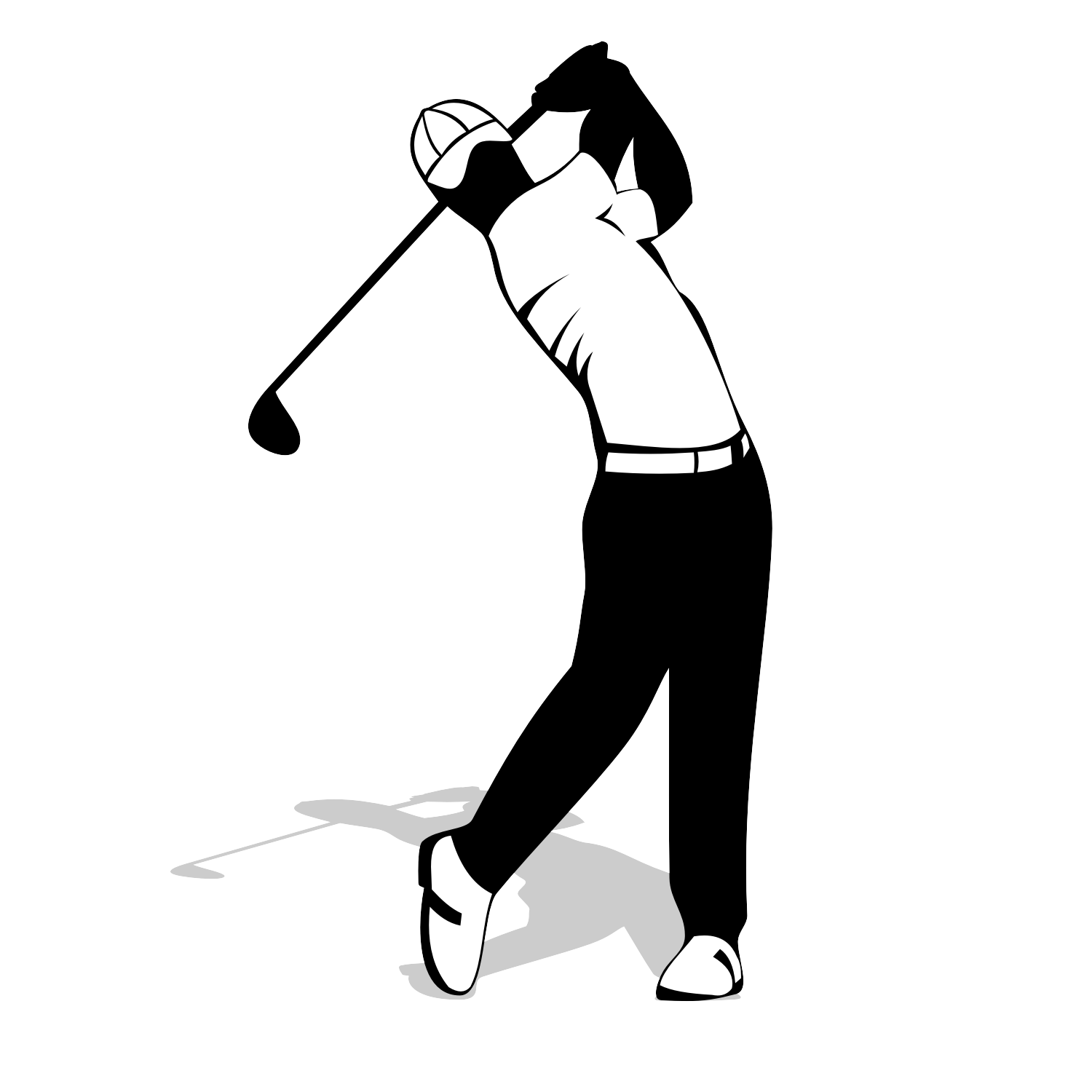 Vector For Free Use Golf Player